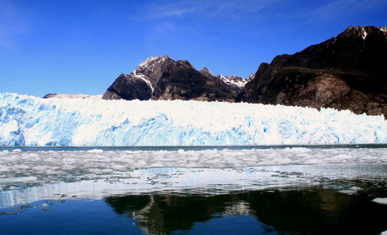 Лагуна Сан Рафаэль, ледники, чили