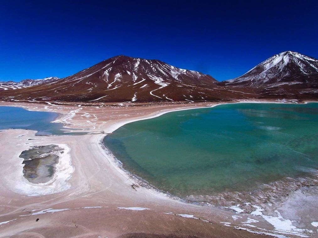 Лагуна Верде, Боливия