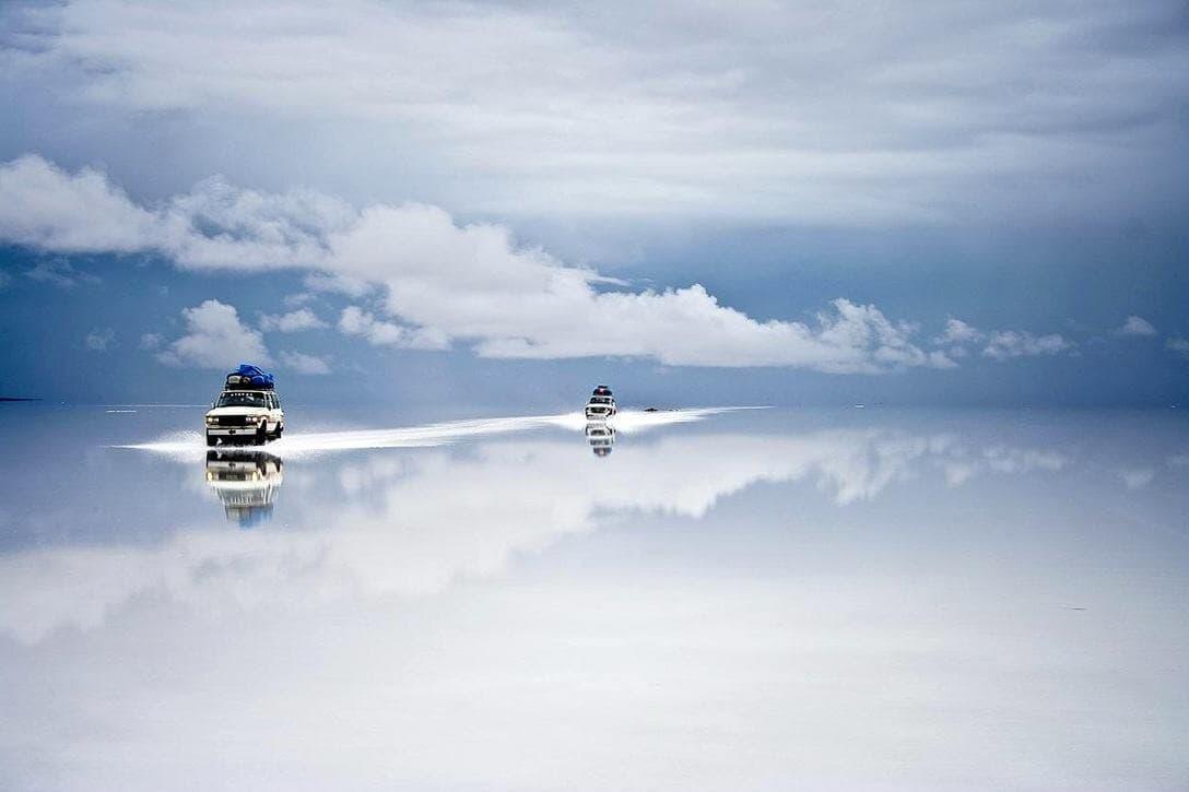 Солончак Уюни,Боливия