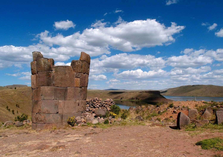 Гробницы Силлустани, Перу